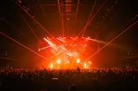 Provided lasers and operated for Kygo's show at Spark Arena in New Zealand. They were an excellent crew to work with and we created some great looks during the performance.