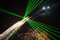 The LLP Airshow is a concept that have been traveling the world for a couple of years. It is an airshow that also involves lasers, LED and pyrotechnics.